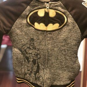 Batman toddler Zip-up sweater